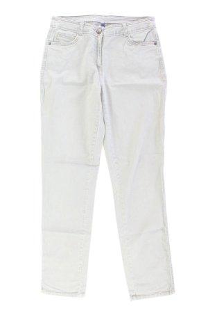 Cecil Straight Jeans Größe 40 grau aus Baumwolle