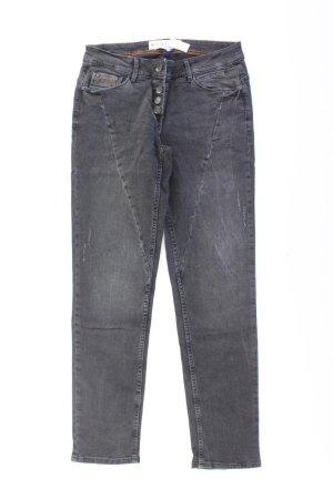 Cecil Straight Jeans Größe W28 grau