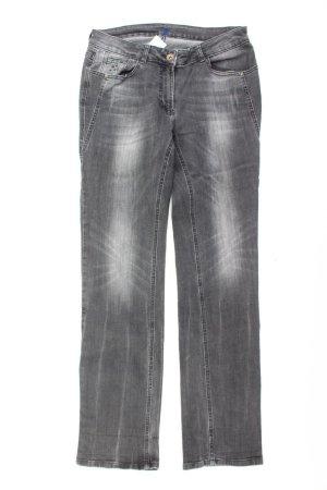 Cecil Straight Jeans Größe W31 grau