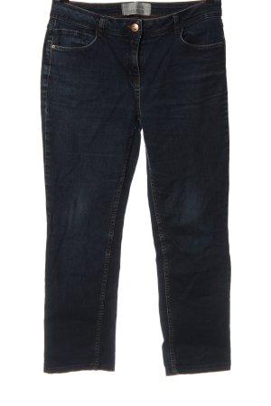 Cecil Jeansy z prostymi nogawkami niebieski Elegancki