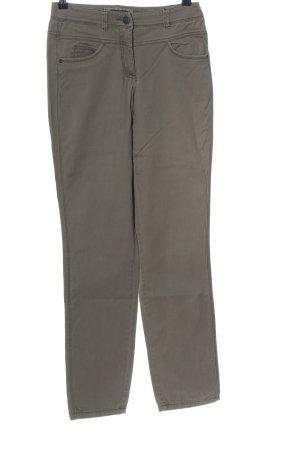 Cecil Jeansy z prostymi nogawkami jasnoszary W stylu casual