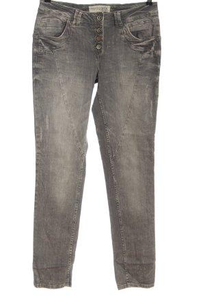 Cecil Straight-Leg Jeans hellgrau Casual-Look