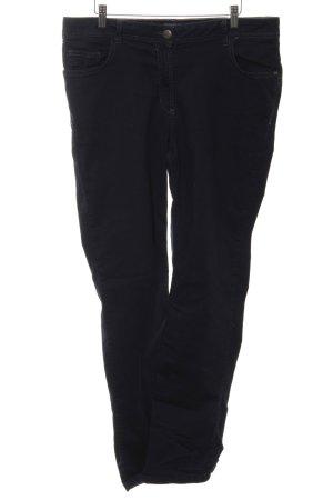 Cecil Jeansy z prostymi nogawkami czarny Na całej powierzchni W stylu casual