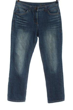 Cecil Straight-Leg Jeans blau Casual-Look