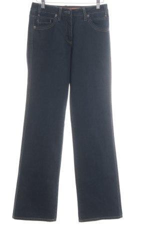 Cecil Jeansy z prostymi nogawkami ciemnoniebieski W stylu casual