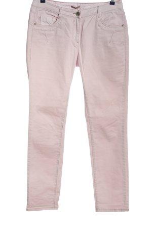 Cecil Jeansy z prostymi nogawkami różowy W stylu casual