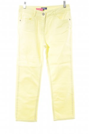Cecil Jeansy z prostymi nogawkami żółty