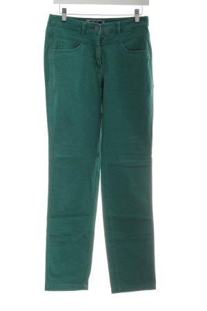 Cecil Jeansy z prostymi nogawkami zielony W stylu casual