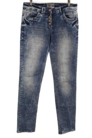 Cecil Jeansy z prostymi nogawkami jasnoniebieski-niebieski W stylu casual