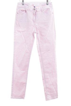 Cecil Jeansy z prostymi nogawkami jasny różowy Prosty styl