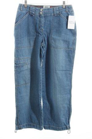 """Cecil Jeansy z prostymi nogawkami """"Lenny"""" niebieski"""