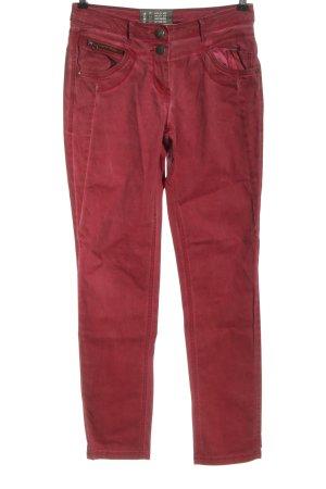 Cecil Jeansy z prostymi nogawkami czerwony W stylu casual
