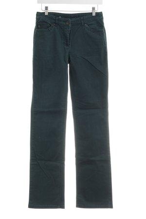 Cecil Jeansy z prostymi nogawkami leśna zieleń Wygląd w stylu miejskim
