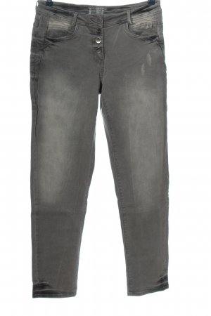Cecil Stretch Jeans hellgrau Casual-Look