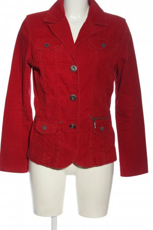 Cecil Strickblazer rot Casual-Look