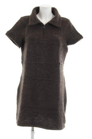 Cecil Strickkleid schwarzbraun Street-Fashion-Look