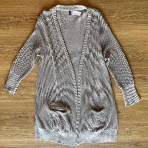 Cecil Knitted Cardigan light grey-grey