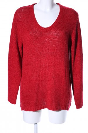 Cecil Strickpullover rot Casual-Look