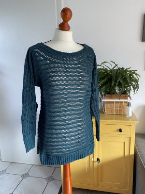 Cecil Coarse Knitted Sweater petrol-cadet blue
