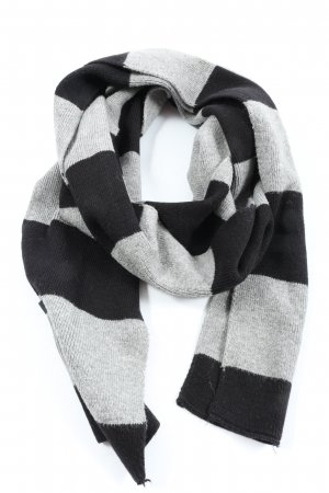Cecil Knitted Scarf light grey-black flecked casual look
