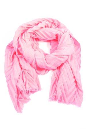 Cecil Écharpe en tricot rose style décontracté