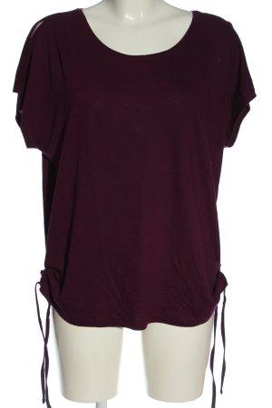 Cecil Camisa tejida marrón look casual