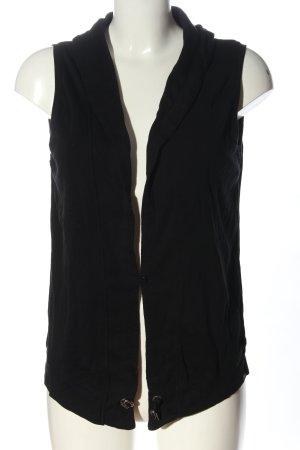 Cecil Smanicato lavorato a maglia nero stile casual