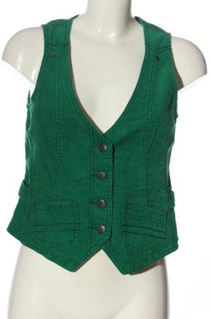 Cecil Waistcoat green casual look