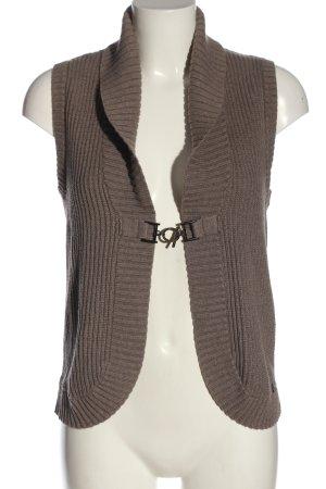 Cecil Gilet tricoté brun style décontracté