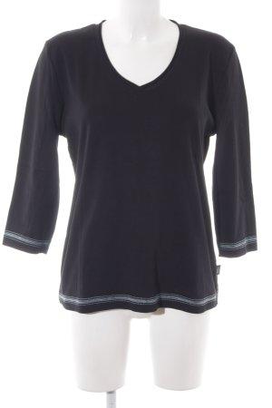 Cecil Sweatshirt schwarz Casual-Look