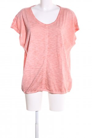 Cecil T-Shirt pink meliert Casual-Look