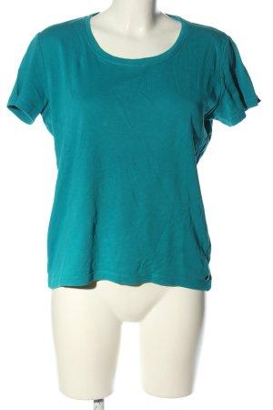 Cecil T-Shirt blau Casual-Look