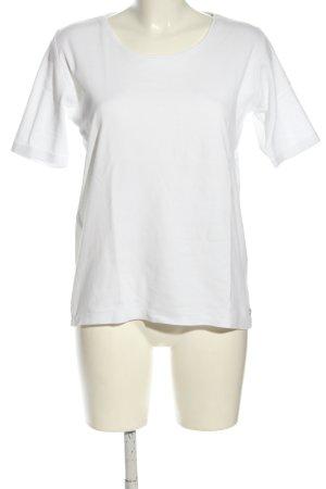 Cecil T-Shirt weiß Casual-Look