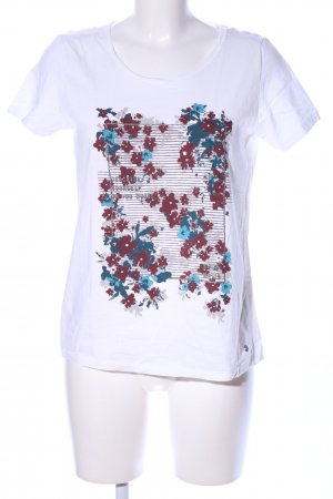 Cecil T-Shirt Motivdruck Casual-Look