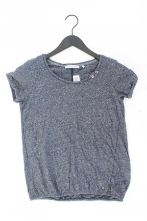 Cecil T-Shirt blue-neon blue-dark blue-azure cotton