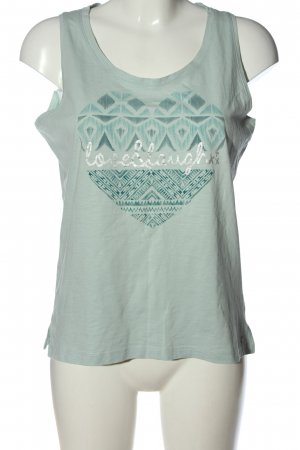 Cecil Tanktop groen abstract patroon casual uitstraling