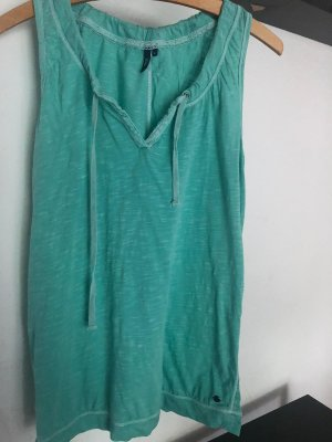 Cecil Top long turquoise