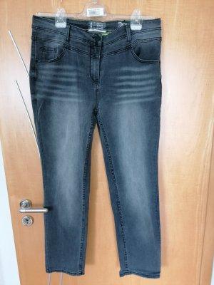 Cecil Jeans stretch gris foncé-gris anthracite