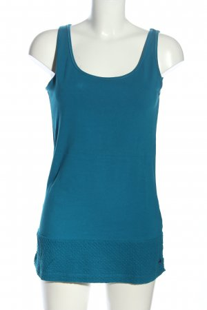 Cecil Strappy Top blue casual look
