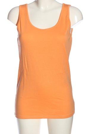 Cecil Canotta a bretelle arancione chiaro stile casual