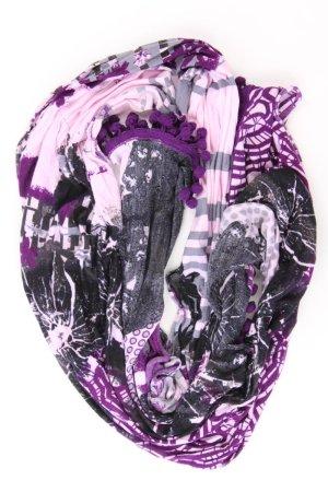 Cecil Écharpe d'été violet-mauve-violet-violet foncé