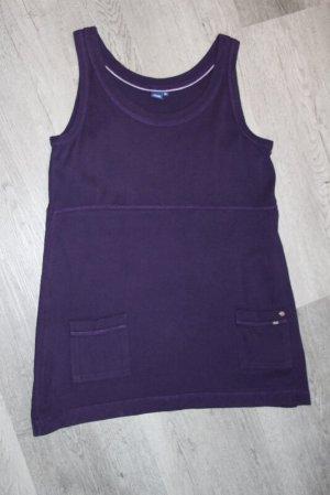 Cecil Tunic dark violet cotton