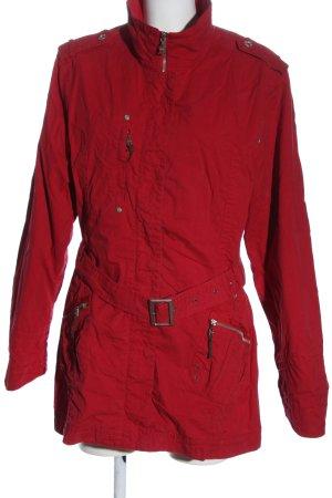 Cecil Between-Seasons Jacket red casual look