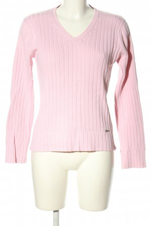 Cecil V-Ausschnitt-Pullover pink Casual-Look