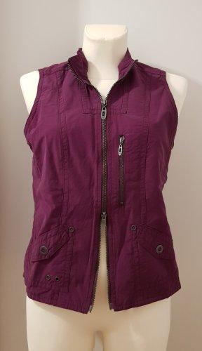 Cecil Sports Vests blue violet