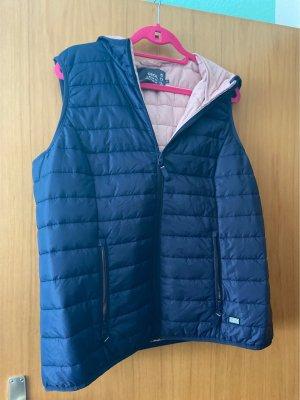 Cecil Capuchon vest blauw-roze