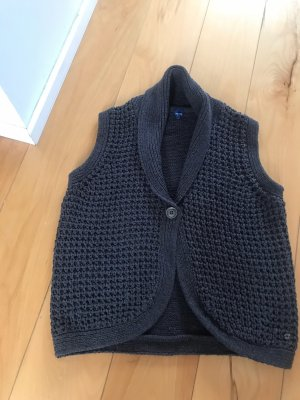 Cecil Knitted Vest anthracite