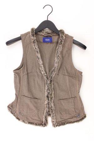 Cecil Fake Fur Vest cotton