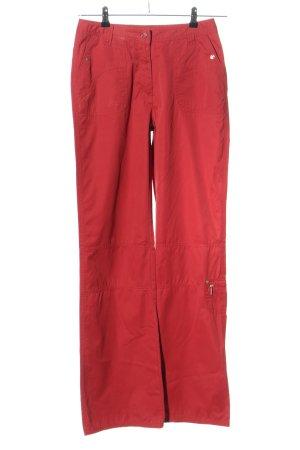Cecil Pantalone di lana rosso stile casual