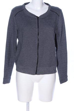 Cecil Veste en laine gris clair moucheté style décontracté
